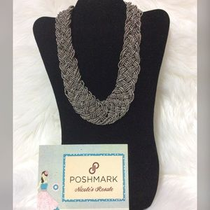 Paparazzi Necklace Seed Bead Braid